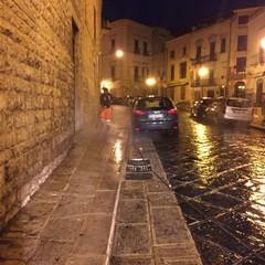 Intervento di sanificazione intorno a Palazzo Ducale e vie limitrofe
