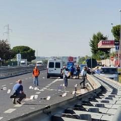 incidente sull'Andria Barletta