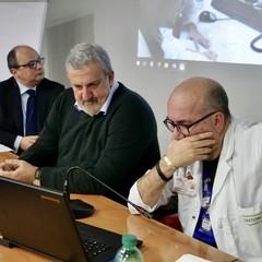 """Michele Emiliano all'ospedale """"Dimiccoli"""" di Barletta"""