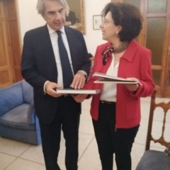 Il nuovo Prefetto della Bat, Maurizio Valiante accolto a Palazzo di Città