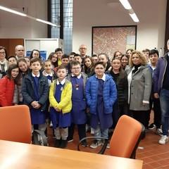 foto A scuola di giornalismo nell Ufficio Stampa del Comune