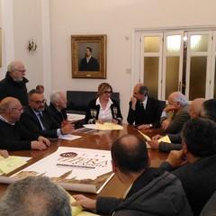 foto conferenza stampa Fiera dAprile