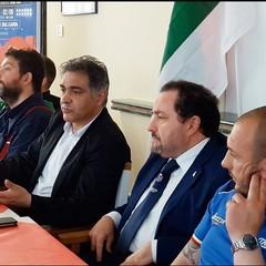 Gli assessori Comunali di Brindisi Covolo e Pinto