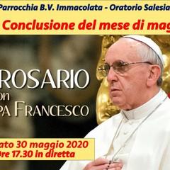 Il Santo Rosario in eurovisione con Papa Francesco