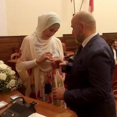 Matrimonio internazionale a Palazzo di città tra due musulmani