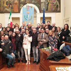 Nozze in Comune per l'on Giuseppe D'Ambrosio e la sua Mariangela