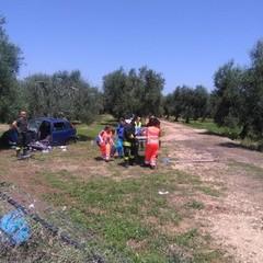 incidente stradale sull'Andria Bisceglie