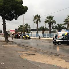 incidente a Trani su via Barletta