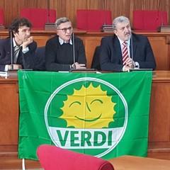 Verdi, da sx Di Gregorio, Troia ed Emiliano