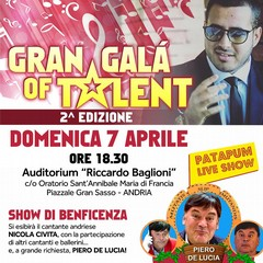 Locandina Gran Galà of Talent