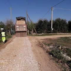 """Sistemata la viabilità della strada vicinale """"Lama di Carro"""""""