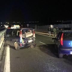 incidente sulla ss 170 Andria Barletta