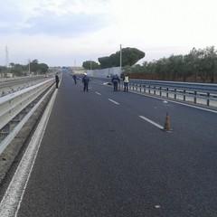 incidente sulla ss 170 Barletta Andria