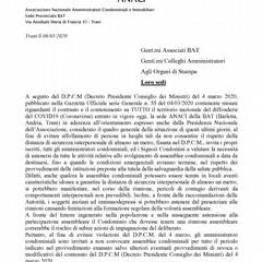lettera ANACI