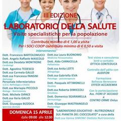 Locandina Laboratorio della salute