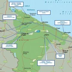 mappa criminalità del  nord barese