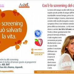 Screening del colon retto: l'Asl/Bt azienda pilota della Regione Puglia
