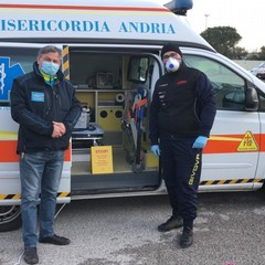misure per prevenire contagio Misericordia di Andria
