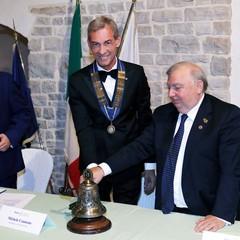 Passaggio del Martelletto al Rotary Club Andria Castelli Svevi