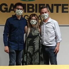 nella foto da sinistra Ronzulli Salzedo e Ciafani presidente nazionale Legambiente