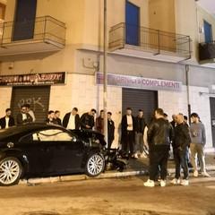 incidente in viale Istria angolo via Mercadante