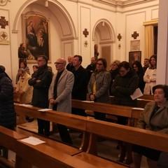 """Messa natalizia di Mons. Mansi per il personale dell'ospedale """"Bonomo"""""""