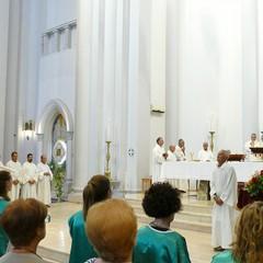 Messa solenne in onore del SS. Salvatore nella chiesa dell'Immacolata