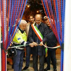 Taglio del nastro alla nuova sede del Nucleo Volontari Città di Andria