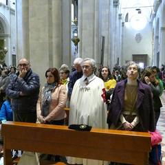 Pellegrinaggio a Loreto del Vescovo Mons. Luigi Mansi  e dei Cavalieri dell'Ordine del Santo Sepolcro di Gerusalemme di Andria