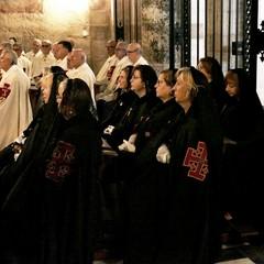 Basilica di Santa Maria dei Miracoli - celebrazione Eucaristica del Vescovo S.E. Mons. Luigi Mansi a conclusione anno sociale  dei Cavalieri dell'O.E.S.S.G.