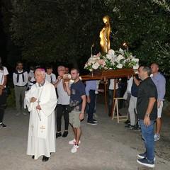 Alle pendici del Castel del Monte nella Chiesa di San Luigi grande partecipazione per la festa di Santa Maria del Monte