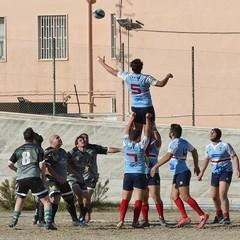 Inizio campionato di rugby, vittoria dei Draghi della Bat