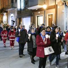 Lunga processione per la 28^ giornata del Malato