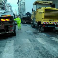 Via Torino, da stamane i lavori di rifacimento del tappetino d'asfalto