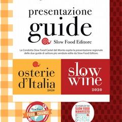 Presentazione guide Slow Food