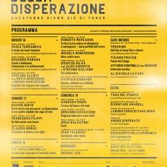 Programma Festival della Disperazione