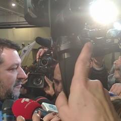 Matteo Salvini a Bari