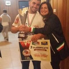 Riccardo Lotito, 3° posto al campionato mondiale di pizza piccante