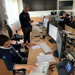 sala operativa della Protezione civile