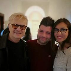 Due artisti dell'acconciatura e del make up: Giuseppe Lullo e Annamaria Porcelli