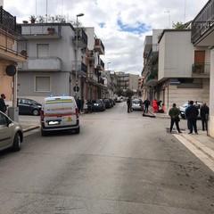 Due feriti in un incidente in via Lissa all'intersezione con via Custoza