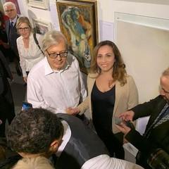 L'Artista andriese Ricarda Guantario espone la sua opera alla Biennale di  Milano