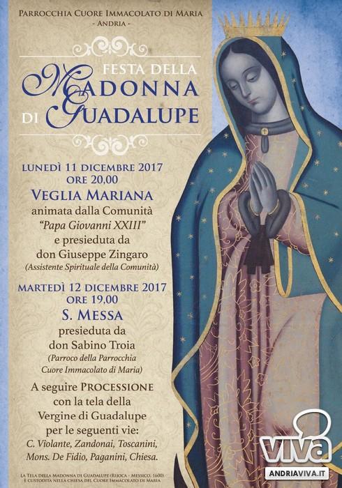 Programma festa di Guadalupe