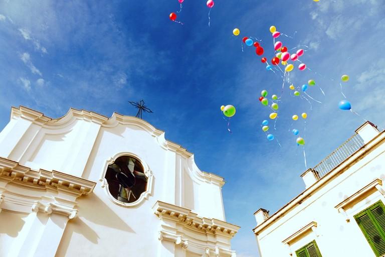 Festeggiamenti alla Parrocchia Gesù Crocifisso di Andria. <span>Foto Riccardo Di Pietro</span>