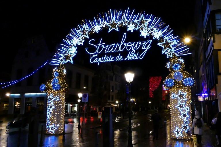 Natale a Strasburgo con un  giovane chef andriese. <span>Foto Riccardo Di Pietro</span>