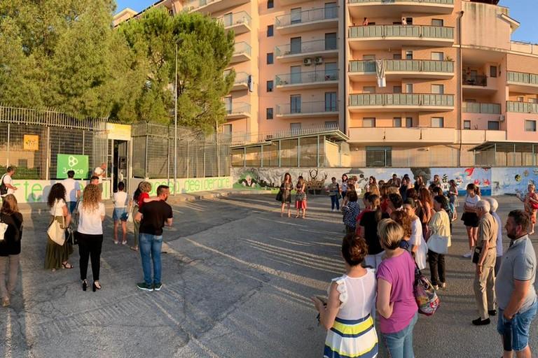 Piazzale della scuola dell'infanzia