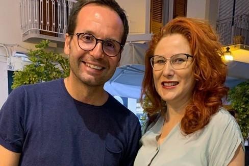 Michele D'Amore, autista di ASA con Grazia Di Bari (M5S)