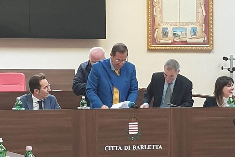 Il Presidente Lodispoto a Barletta