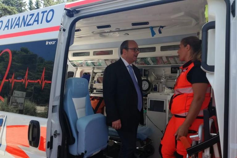 a Castel del Monte il servizio 118 attivato dalla Asl Bt in collaborazione con il Parco dell'Alta Murgia