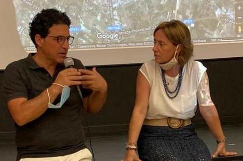 Giovanni Vurchio con Giovanna Bruno